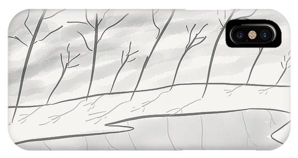 Frozen Landscape IPhone Case