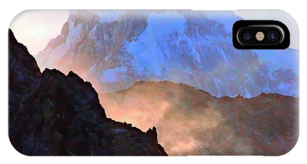 Frozen - Torres Del Paine National Park IPhone Case