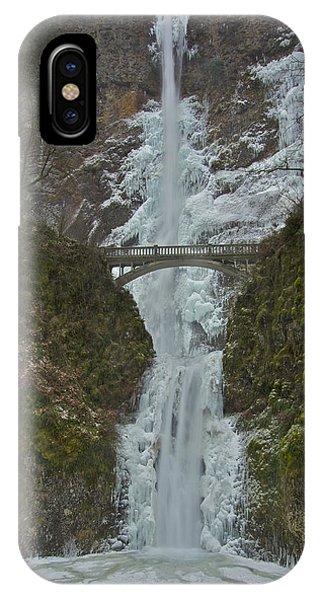 Frozen Multnomah Falls Ssa IPhone Case