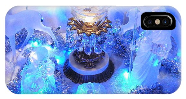 Frozen Nativity 2 IPhone Case