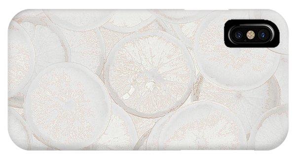 Frozen Orange IPhone Case