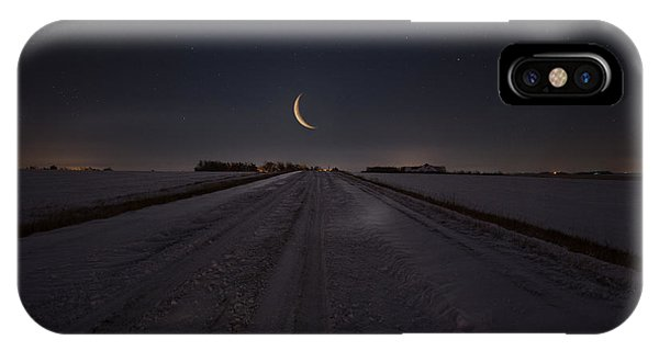 Frozen Road To Nowhere IPhone Case