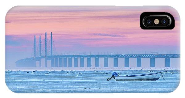 Winter iPhone Case - Frozen Sea by Jacek Oleksinski