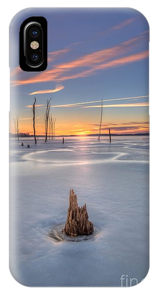 Nikon iPhone Case - Frozen Sunrise by Michael Ver Sprill