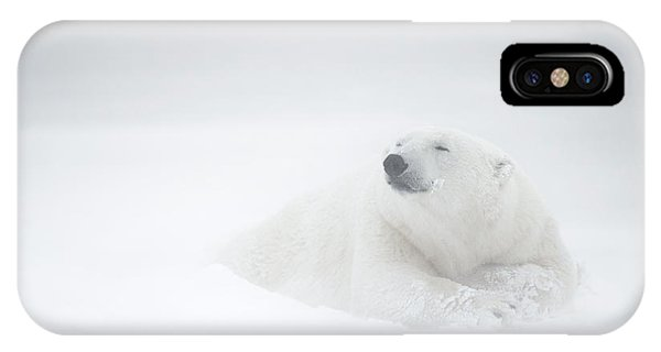 Freeze iPhone Case - Frozen Thoughts by Marco Pozzi