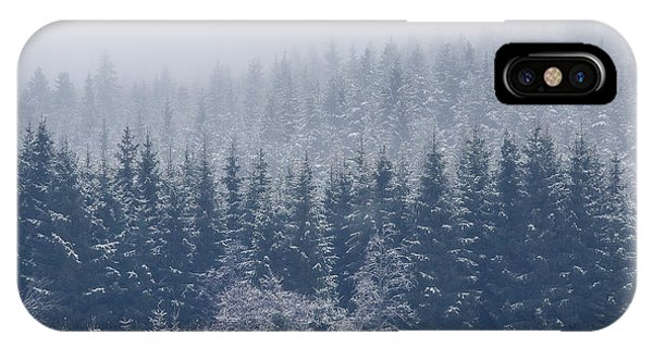 Frost iPhone Case - Frozen Trees by Andreas Christensen