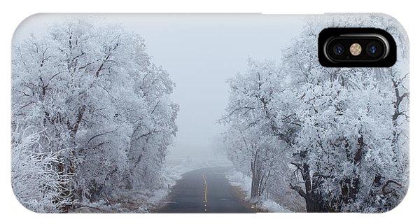 Ice iPhone Case - Frozen Trees by Darren  White