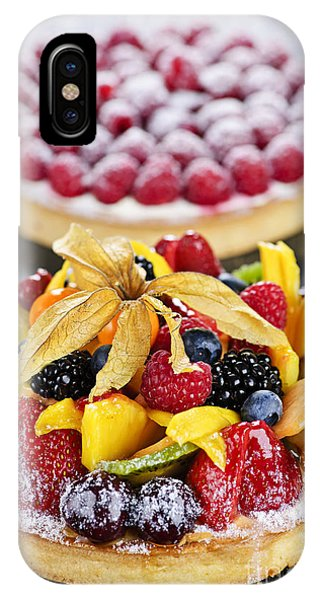 Icing iPhone Case - Fruit And Berry Tarts by Elena Elisseeva
