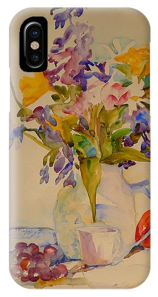Fruit And Flowers Phone Case by Valerie Lynch