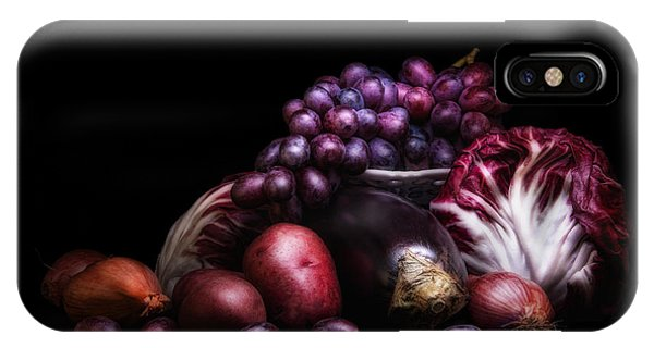Lettuce iPhone Case - Fruit And Vegetables Still Life by Tom Mc Nemar