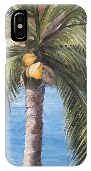 Fruit Of The Palm IPhone Case