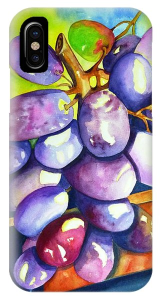 Purple Grapes IPhone Case