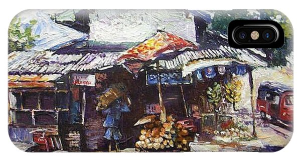 Fruit  Shop In Srilanka IPhone Case