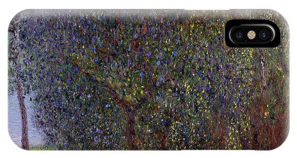 Orchard iPhone Case - Fruit Trees by Gustav Klimt