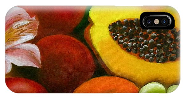 Fruits And Flowers IPhone Case