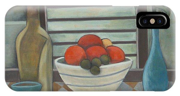Fruta Flores Y Vino IPhone Case