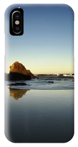 Ft. Bragg Moonset IPhone Case