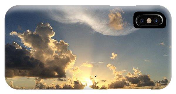 Ft. De Soto Sunset Soar IPhone Case