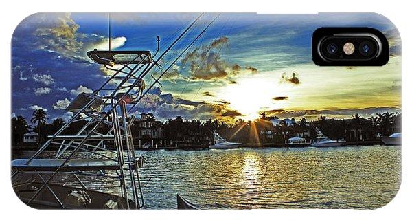 Ft. Lauderdale Sunset IPhone Case