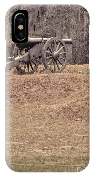Ft. Mcallister Cannon 2 View 2 IPhone Case