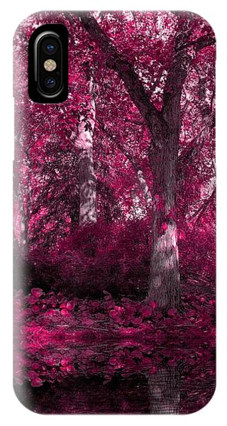 Fuchsia Forest IPhone Case