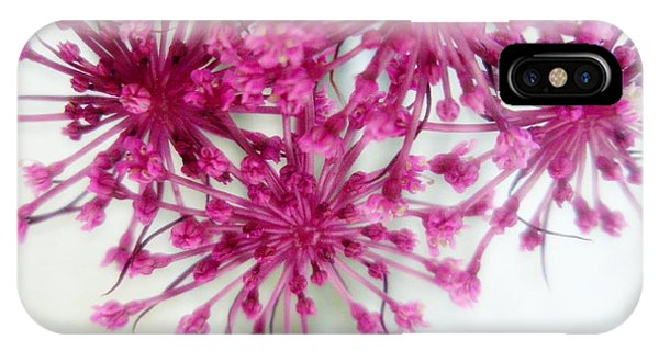 Fuchsia Frenzy  IPhone Case