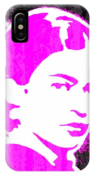 Fuchsia Frida IPhone Case