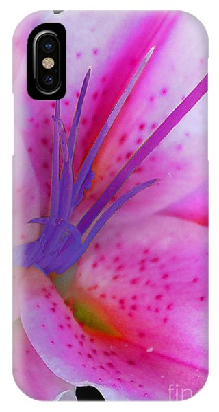 Fuchsia Lily IPhone Case
