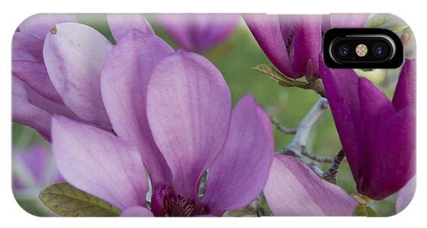 iPhone Case - Fuchsia Petals by Julie Acquaviva Hayes