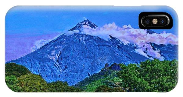 Fuego Volcano Guatamala IPhone Case