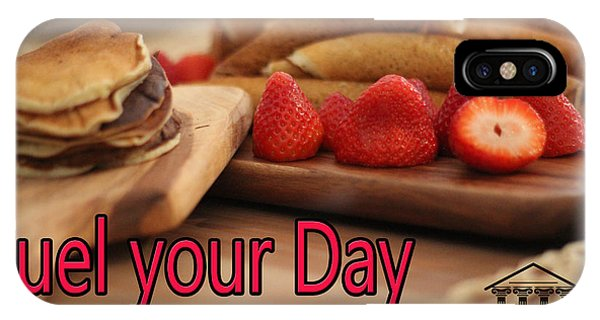 Fuel Your Day IPhone Case