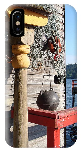Fulford Harbour IPhone Case