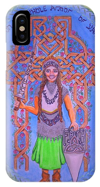 Full Armor Of Yhwh Woman IPhone Case
