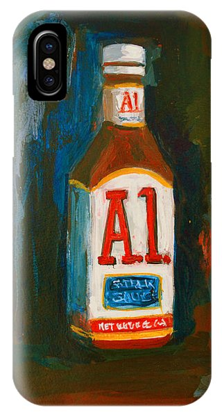Full Flavored - A.1 Steak Sauce IPhone Case
