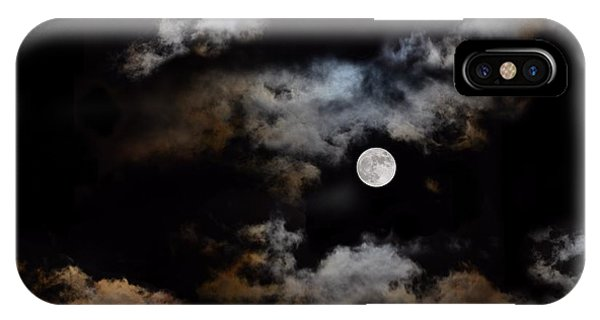 Full Moon After The Storm IPhone Case