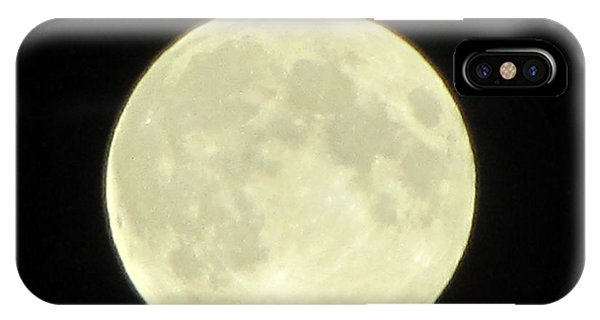 Full Moon Axis Phone Case by Debbie Nester