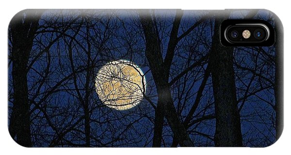 Full Moon March 15 2014 IPhone Case