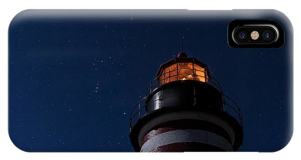 Full Moon On Quoddy IPhone Case