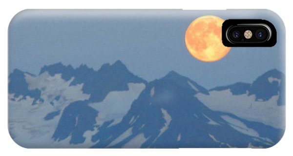 Full Moon Over Homer IPhone Case