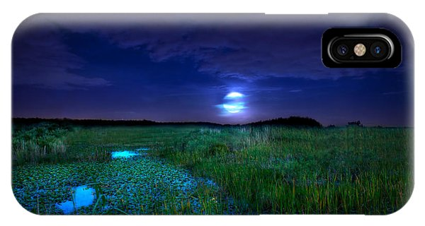 Full Moons And Fireflies IPhone Case