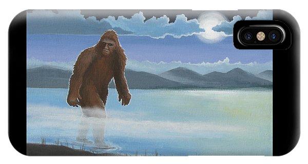 Fullmoon Squatch IPhone Case