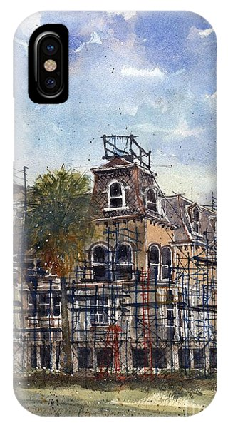 Fulton Mansion IPhone Case