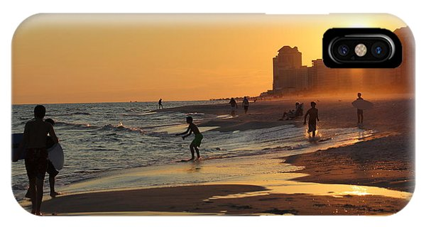 Fun In The Fading Sun Phone Case by Tina Sessions