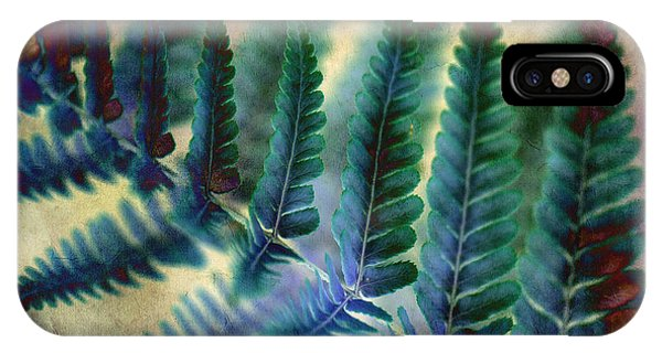 Funky Fern. IPhone Case