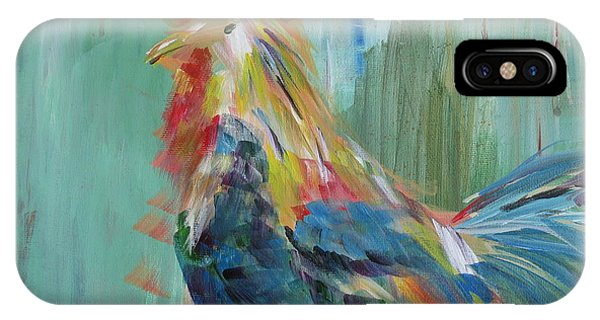 Funky Rooster IPhone Case