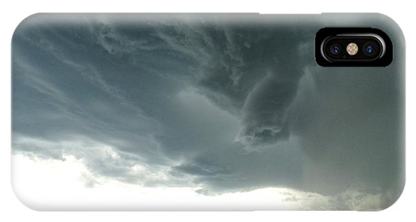 Funnel Cloud IPhone Case