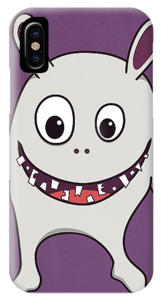 Funny Crazy Happy Monster IPhone Case