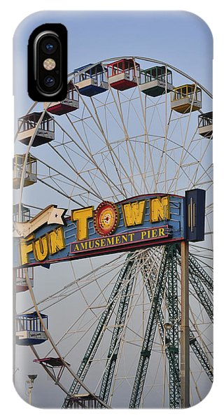 Funtown Ferris Wheel IPhone Case