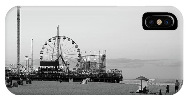 Funtown Pier - Jersey Shore IPhone Case