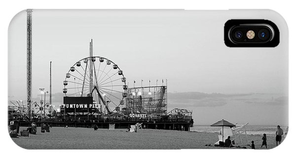 Funtown Pier - Jersey Shore IPhone Case